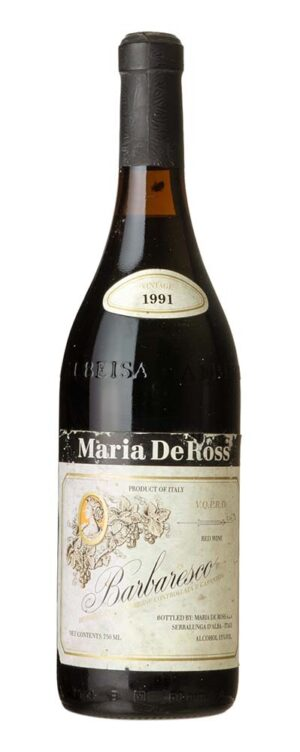 1991 Barbaresco Maria de Ross