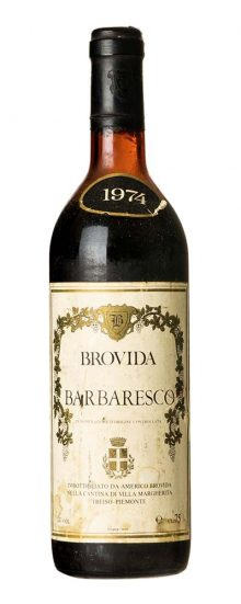 1974 Barbaresco Brovida