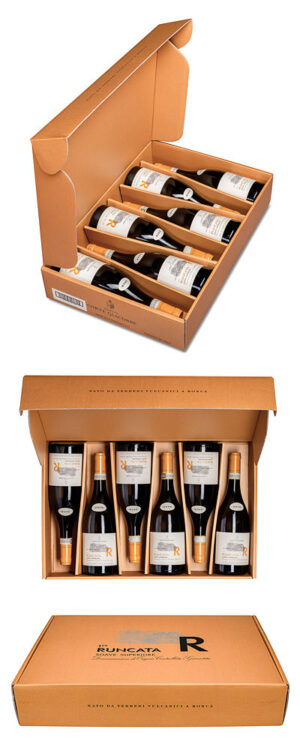 2018 Gift collection of six bottles of Soave Runcata white wine