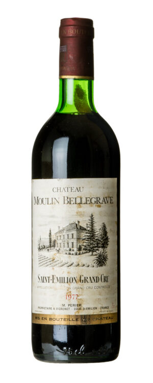 1977 Grand Cru Classé, Saint-Emilion Chateau Moulin Bellegrave