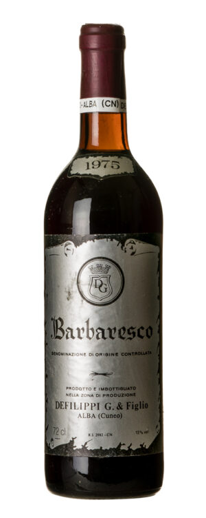 1975 Barbaresco Defilippi