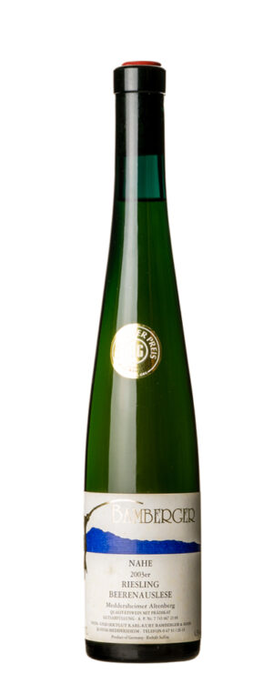 2003 Riesling, Selection of well ripe grapes Bamberger